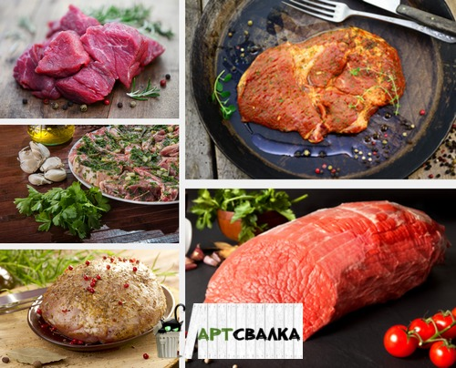 Блюда из сырого мяса | Meals from raw meat